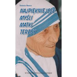 Najpiękniejsze myśli Matki Teresy