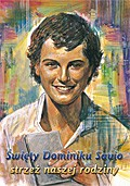 Święty Dominiku Savio – strzeż naszej rodziny. Karta